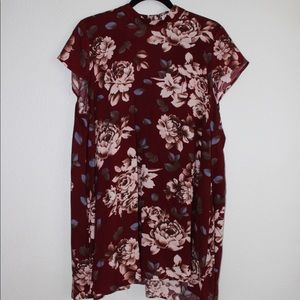 12th Tribe Floral Dress - Large